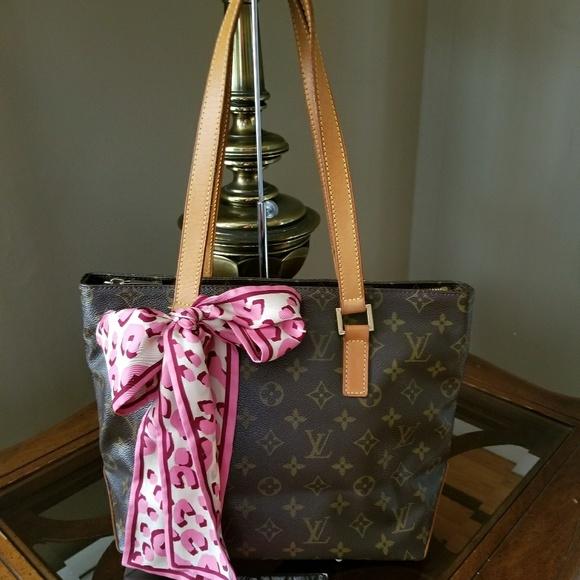Handbags - Authentic Louis Vuitton Cabas Piano